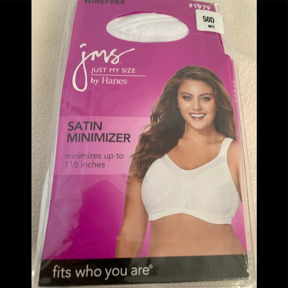 6c51f0394aa98 Just My Size JMS Satin Minimizer white 50D